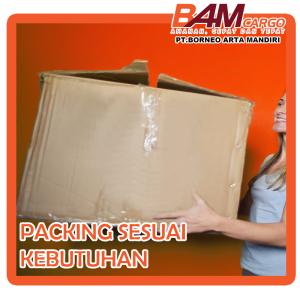 Pindah rumah dengan Packing Sesuai Kebutuhan (BAM Cargo)