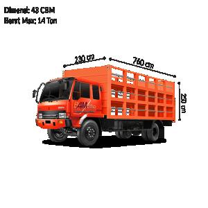 Colt Diesel Double (CDD) Bak Air Galon BAM CARGO
