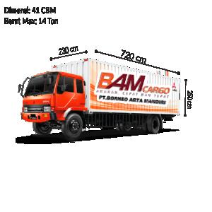 Colt Diesel Double (CDD) Long Box BAM Cargo