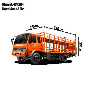 Colt Diesel Double (CDD) Motor Carrier Long BAM Cargo