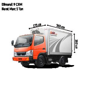 Colt Diesel Engkel (CDE) Reefer BAM CARGO