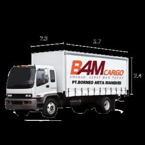 FUSO (BOX) BAM CARGO