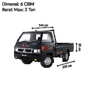 Pick Up L300 Bak BAM CARGO