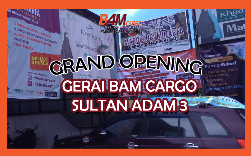 Grand Opening Sultan Adam 3 Website Featured Image Tamplate