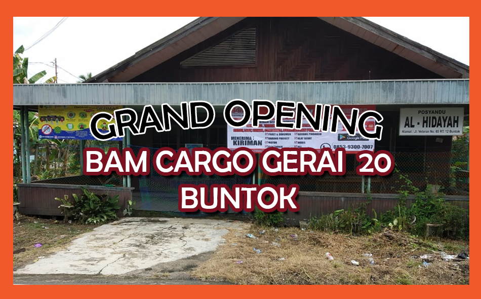 Grand Opening Gerai 20 Buntok Website Featured Image Tamplate